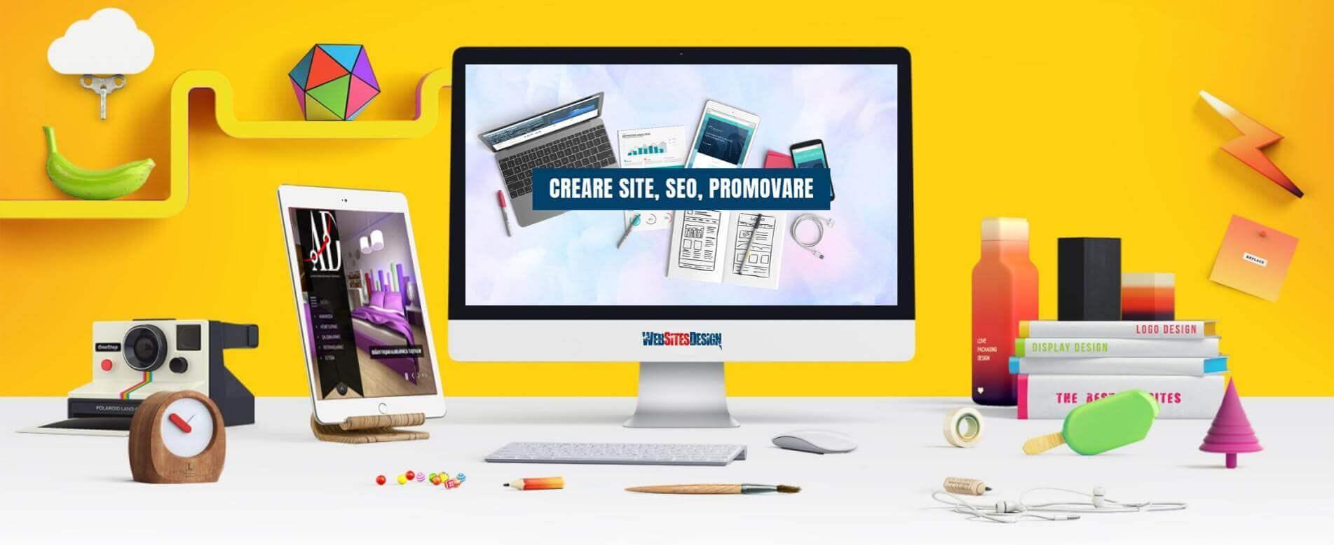 Creare site firma constructii for Creare design